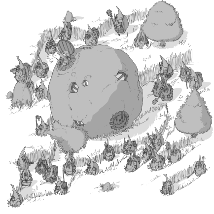 An entoma migration, inspired by the dung beetle.